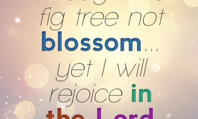 Though the fig- tree not blossom