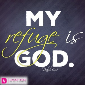 My refuge is God