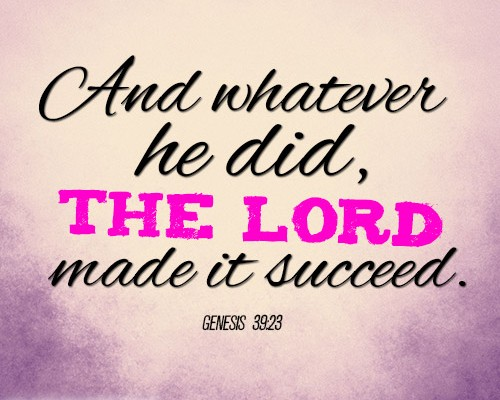 And whatever he did, the LORD made it succeed