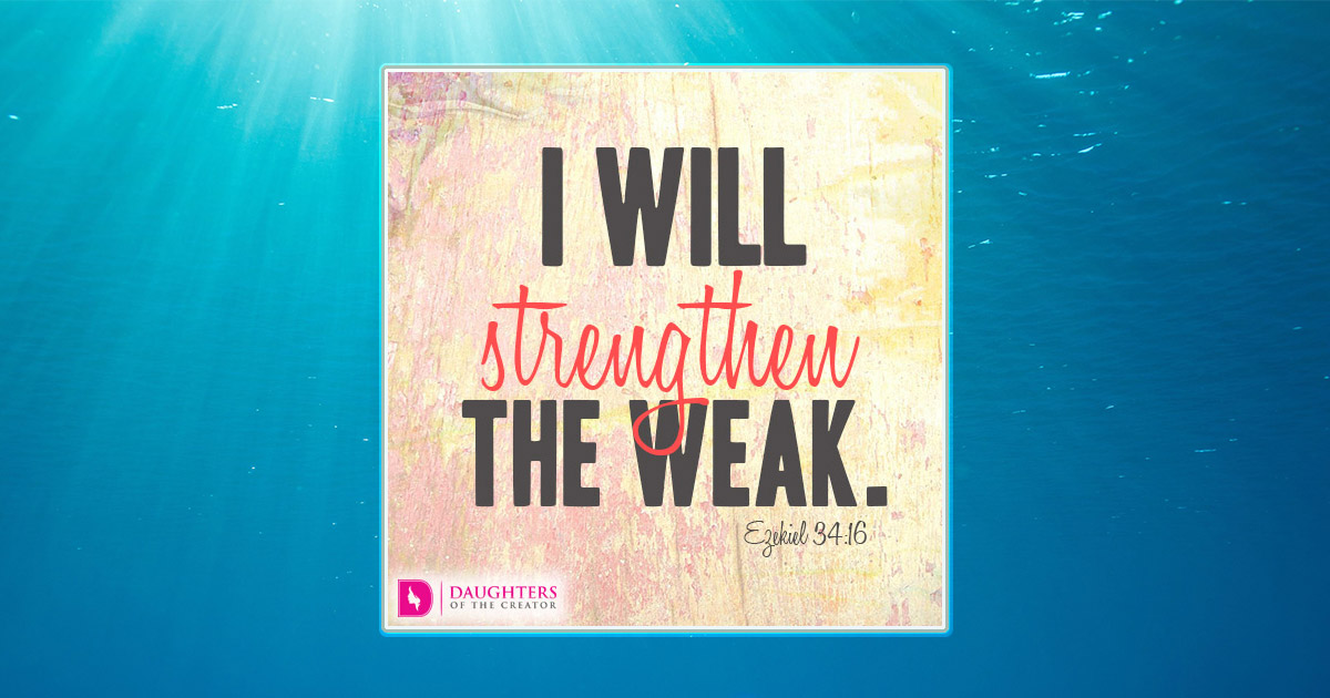 Strength From Above Daughters Of The Creator
