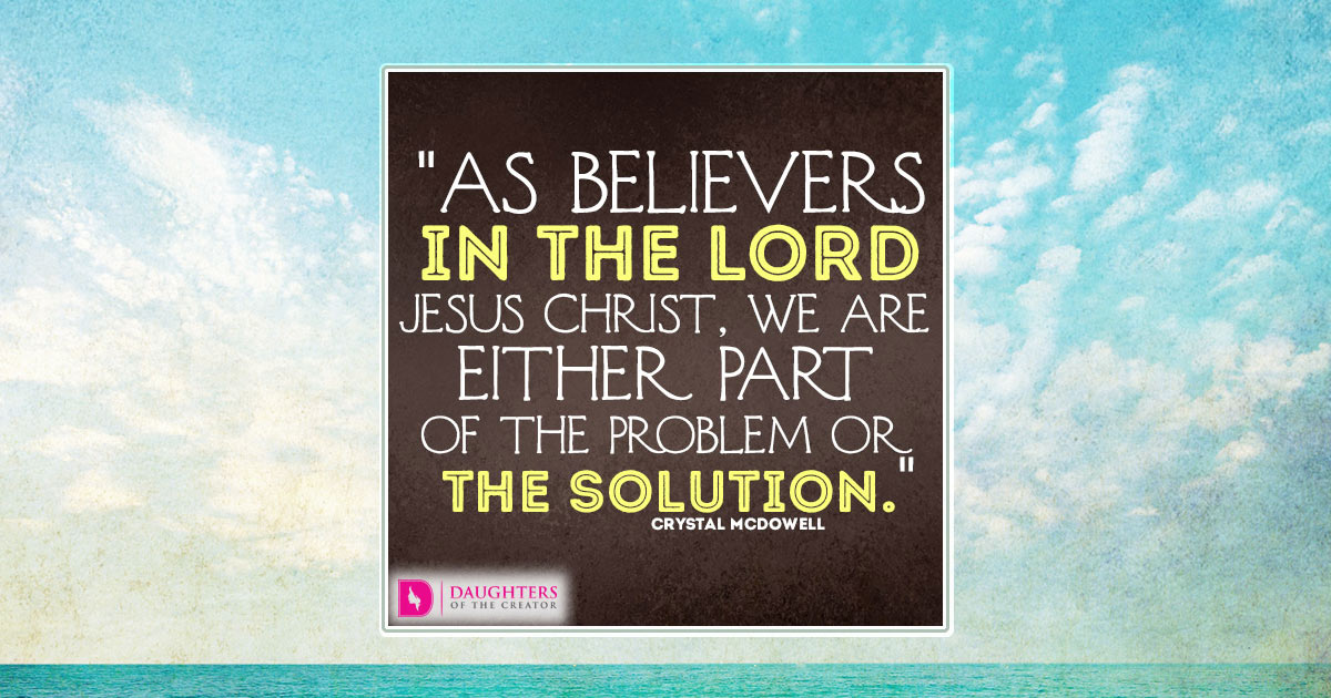 FB_As believers in the Lord Jesus Christ, we are either part of the ...