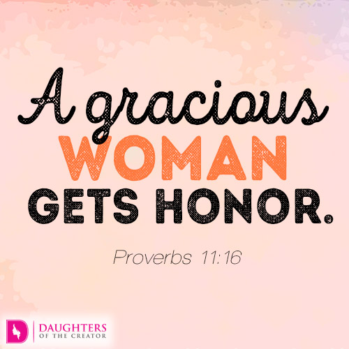 Image result for a gracious woman gets honor