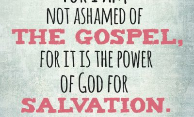FB_For I am not ashamed of the gospel, for it is the power of God for salvation