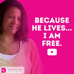 Because He lives...I am free.