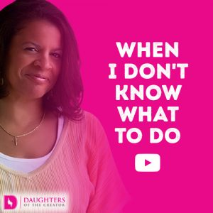 Video Blog - When I don't know what to do
