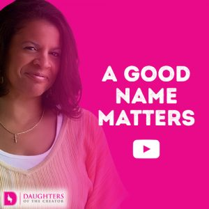 Video Blog - A Good Name Matters